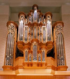 Gottfried and Mary Fuchs organ at Pacific Lutheran University