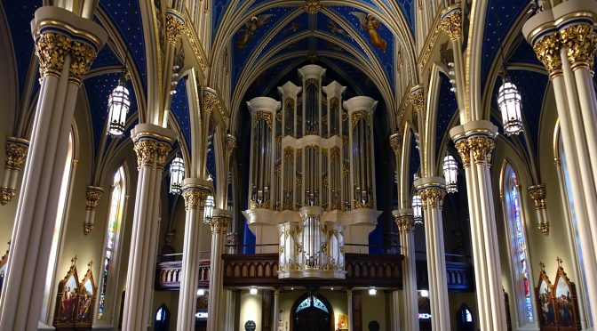 Fritts Organ at Notre Dame Completed