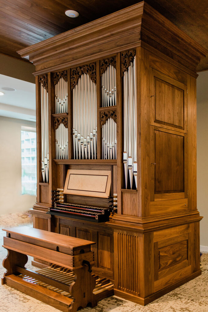 Fritts Organs opus 46 at Wesley Des Moines